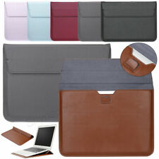 """Leather Laptop Case Carrying Sleeve Cover Notebook For MacBook Pro 15"""" 13"""" 11"""""""