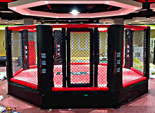 20'x20' Commercial Boxing Ring MMA Cage UFC Octagon Pro Wrestling Mat 400 sq ft