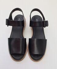 Clarks Originals en cuir noir Madlen Sandales Taille UK 6 D/EU 39