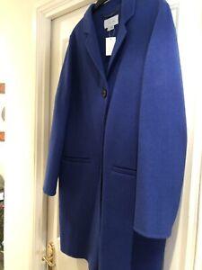 New Blue Jigsaw Coat M