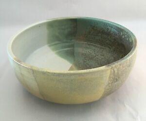 Pottery salad bowl - handmade in Australia
