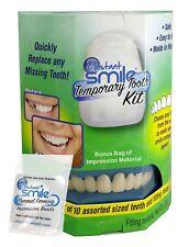 Instant Smile Secure Dental Cosmetic Veneers Snap On Teeth Natural Color Care US