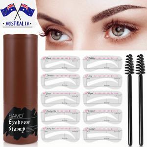 Waterproof Eyebrow Stamp Shaping Makeup Set One Step Brow Stamp Shaping Kit-AUS
