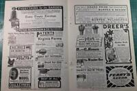 1905 Vintage Early Gardening ads Burpee Seeds Incubators Poultry more!