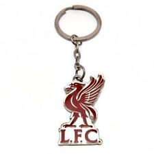 Liverpool F.C. Official Crest Key ring on a header card