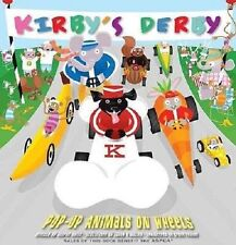 Fine 2008 First Edition Hardcover Kirby's Derby Animals on Wheels Bruce Foster