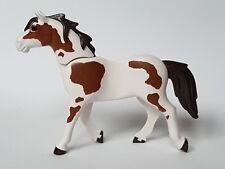 Playmobil Western Oeste Animales, Caballo Marron Pintas, Escenario, Vaqueros