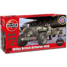 AIRFIX A02339 Willys Jeep aéroportée britannique 1: 72 militaire Model Kit