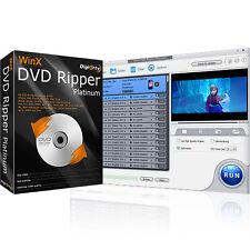 WinX DVD Converter Platinum, DVD to AVI, MP4 iPhone/iPad Android, AVI MP4 MOV