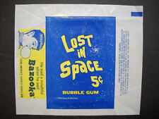 "1966 Topps "" Lost In Space"" 5 cent Bubble Gum wrapper (reprint)"