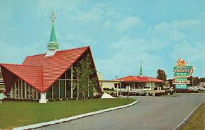 Postcard Howard Johnson's Host Of The Highways