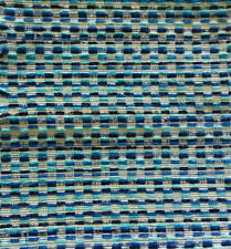 Woven Modern Aqua Navy Blue Cobalt Upholstery Window Treatments Upholstery IL10