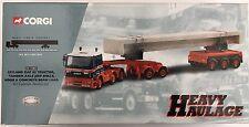 Corgi Heavy Haulage CC11802 Leyland Tractor, Axle And Concrete Beam