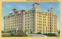 Postcard Evangelical Deaconess Home and Hospital St Louis Missouri Unposted