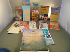 Lot of 24 Travel Brochures Maps California San Francisco Wine Country Oakland