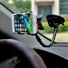 360° Car Windshield Mount Bracket Holder For Cell Phone iPhone Samsung Note 8 9