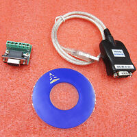 80mm USB 2.0 to RS-485 RS-422 DB9 Serial Converter Adapter Cable