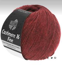 Lana Grossa Cashmere 16 Fino Color 22 Rojo Vino