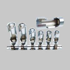 BGS offene Schlüssel Set 3/8 Steckschlüssel Einsatz geschlitzt Nüsse Lambdasonde