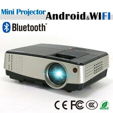 Mini LCD Android Wifi Home Theater Projector Bluetooth Portable Online Movie App