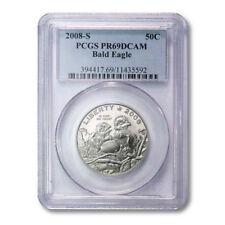 USA Bald Eagle Commemorative Half Dollar 50¢ 2008-S PCGS Proof 69 Deep Cameo PR6