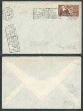 1952 TRIESTE A FDC MASSAIA TIMBRO DI ARRIVO - BF