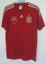 España Oficial Camiseta de fútbol de Adidas (2010 campeones) Tamaño Mediano