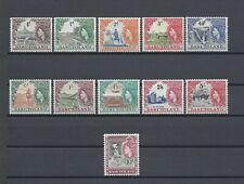 BASUTOLAND 1954-58 SG 43/53 MNH Cat £110
