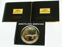 Breitling Transocean Day & Date A45310 Anleitung Instructions NO WATCH I229