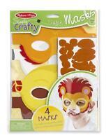 Melissa And Doug Simply Crafty Superhero Masks and Cuffs #9477 BRAND NEW