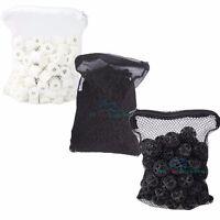 1 lb Active Carbon + 50pcs Bio Balls + 500g Ceramic Rings for Aquarium Filter