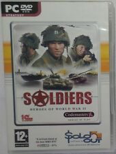 Soldiers: Heroes of World War II (PC: Windows, 2004) DVD-ROM