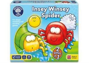 Insey Winsey Spider Counting & Matching Game Orchard Toys OC031