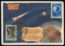 Mayfairstamps Russia 1957 Space Stamps Maximum Card Used wwi8801