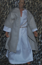 """Jesus Outfit for 1/6 scale 12"""" action figure man. Medieval Roman Star Wars Jedi"""