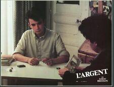 VINCENT RISTERUCCI  L'ARGENT ROBERT BRESSON 1983 VINTAGE LOBBY CARD ORIGINAL #5