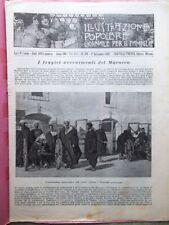 L'illustrazione Popolare 1 Settembre 1907 Marocco Tangeri Joseph Joachim Del Val