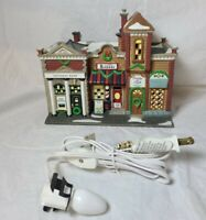 Department Dept 56 Christmas In The City Riverside Row Shops #58888 Barber Bank