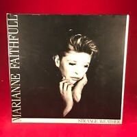 MARIANNE FAITHFULL Strange Weather 1987 UK VINYL LP + INNER Excellent Condition