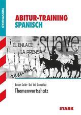 Abitur-Training - Spanisch Themenwortschatz - 9783866688162