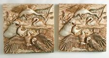 Lot 2 Beaky's Beach Tile Harmony Kingdom Noah's Park Picturesque Magnetic New