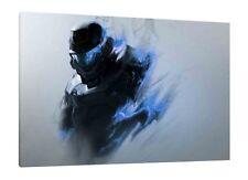 Halo - 30x20 pollici Tela Art-Foto Incorniciata Stampa Wall Art XBOX ONE