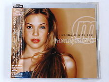 MANDY MOORE I Wanna Be With You ESCA-8148 JAPAN CD w/OBI 264az58