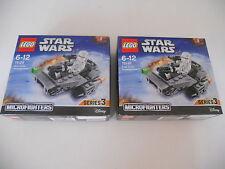 StarWars Lego (2x) erster Ordnung Snowspeeder 75126 NEU Star Wars