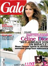 """Celine Dion """"Rare"""" Gala Magazine 5 Pages Exclusive With Rene"""