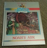 NOAH'S ARK Hanna-Barbera's Greatest Adventure Stories The Bible - Hardcover Book