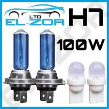 2 X H7 499 / 477 100w Xenon Super White Headlight Bulbs Dipped Main Beam 12v 501