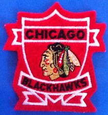 "Chicago Blackhawks NHL Logo Patch / Crest Sew On/ Iron On 3""x 3.5"" Inch"