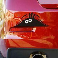 3D Funny Peeking Monster Cartoon Auto-Aufkleber Vinyl Badge Emblem Aufkleber