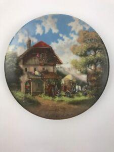 """""""Vor Der Schmiede"""" by Christian Lückel 1986, in 'Lückels Idyllisches Dorfleben'"""